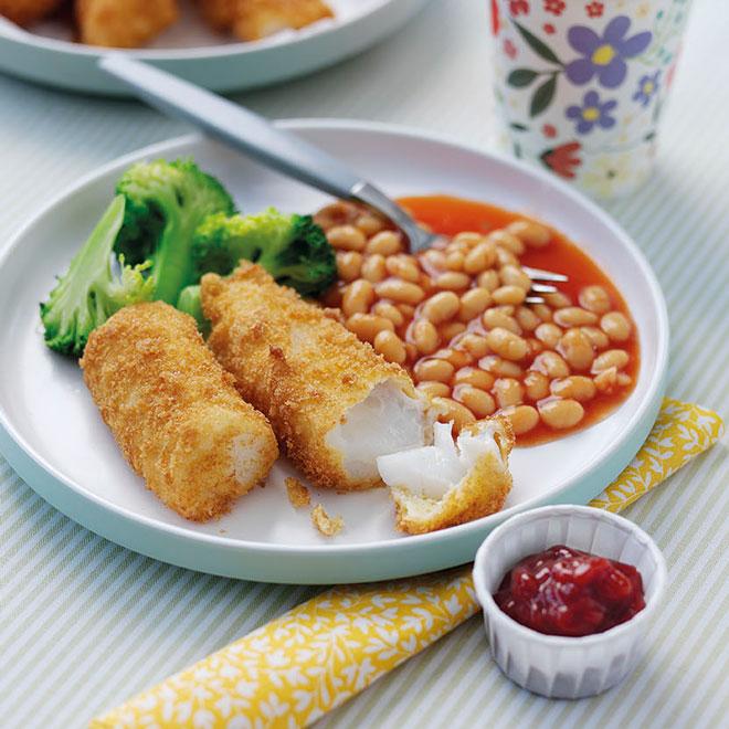 Homemade Fish Fingers