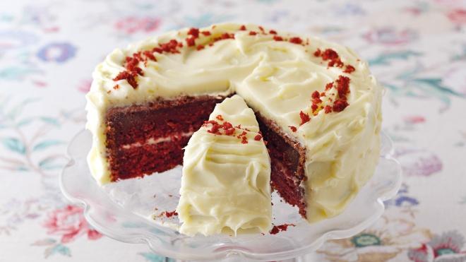 Decadent Red Velvet Cake