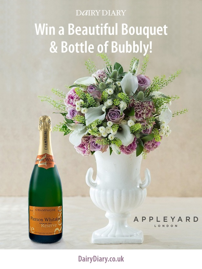 Win Flowers & Champagne