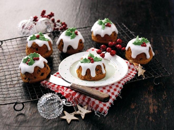 Christmas Mincemeat Cakes