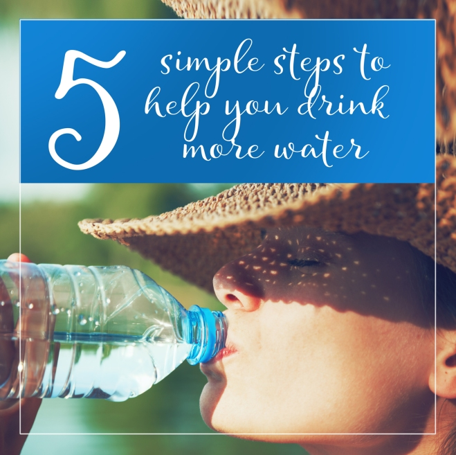 5 tips to drink more water