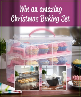 Win a Christmas Baking Set