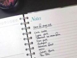 Diary Diary 2017 notes