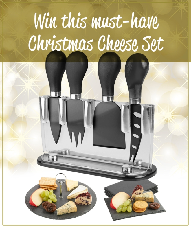 Win this Christmas Cheese Set