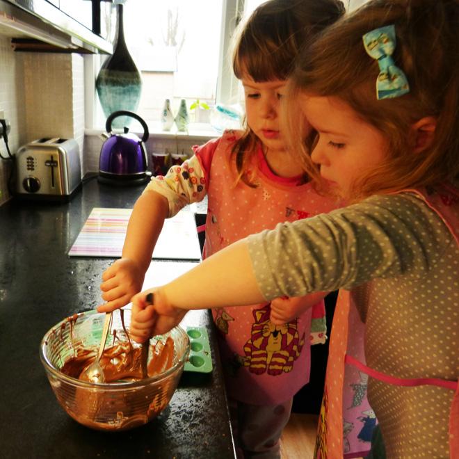 Speedy Chocolate Sponge Puddings