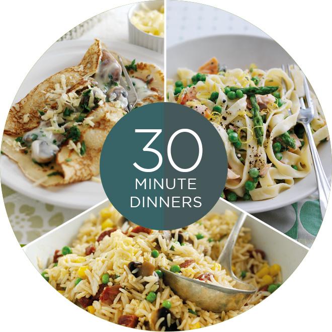 Easy weekday dinners