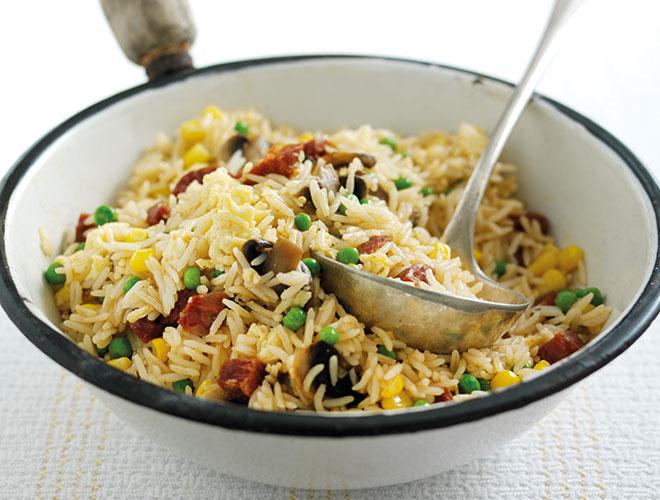Chorizo Fried Rice