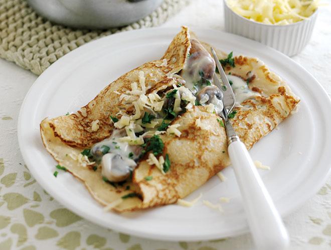 Mushroom Pancakes