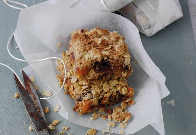 Apricot & Date Flapjack Squares