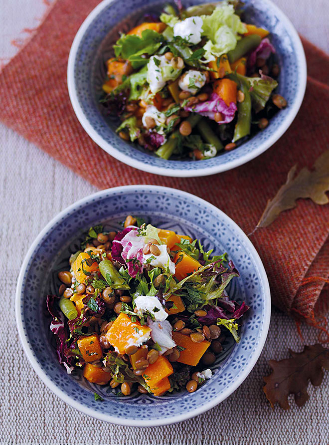Autumn Super Salad