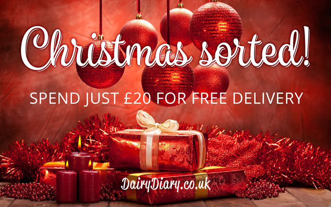 Christmas sorted with the Dairy Diary