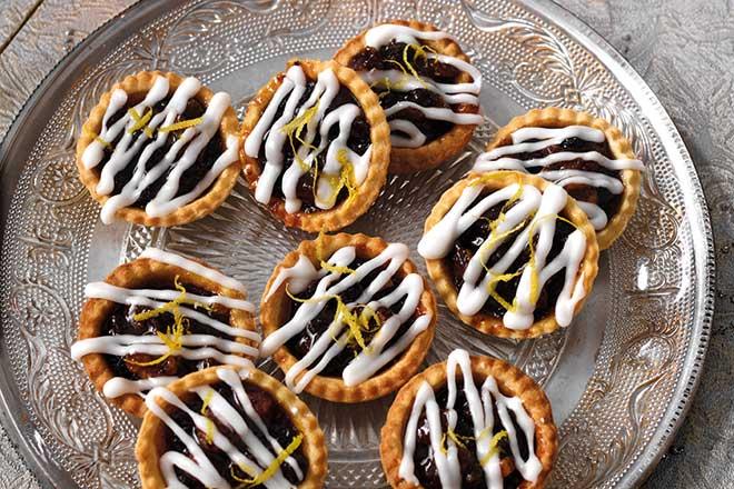 Lemon Drizzle Mince Pies