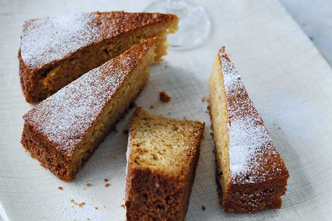Sweet Sherry Cake