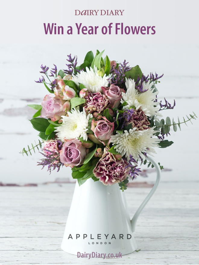 Win a Year of Flowers