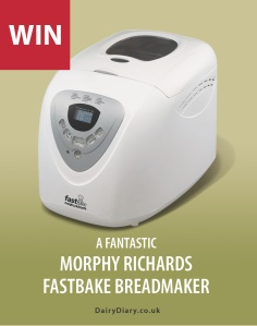 Win a Morphy Richards Breadmaker