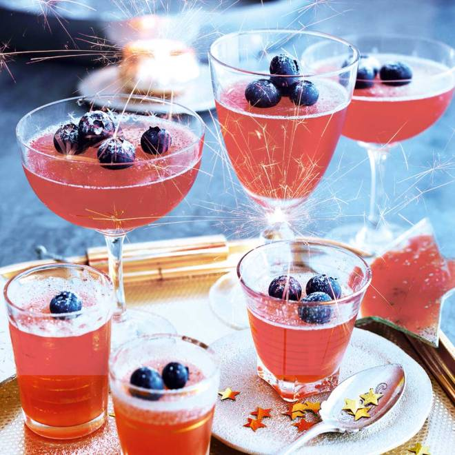 Sloe Gin Jellies