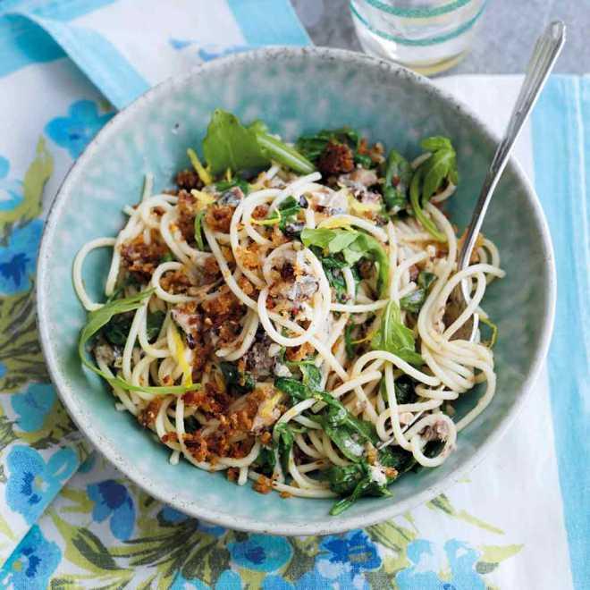 Sardine Spaghetti
