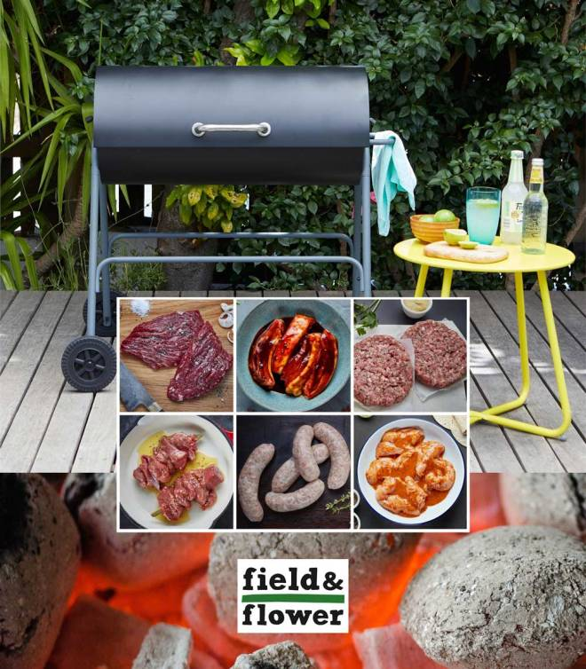 Win a barbecue box from field&flower